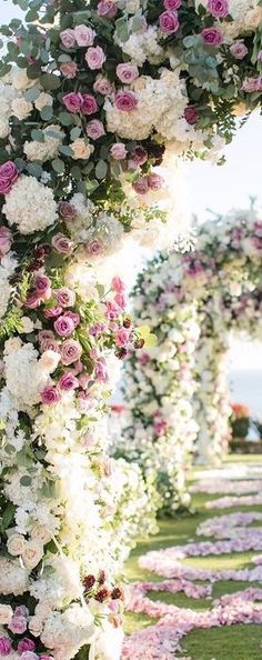 Wedding floral Arches