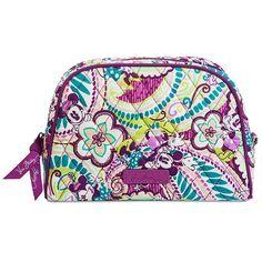 Your WDW Store - Disney Vera Bradley Bag - Plums Up - Medium Zip Cosmetic