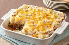 Diabetic Shepherd's Pie is an easy recipe for a healthier version of the old time classic Shepherd's Pie made with healthier-for-you ingredients. It is a healthy low fat low calories low sodium low sugars low carbohydrates diabetic and Weight Watch Kraft Foods, Kraft Recipes, Ww Recipes, Cooking Recipes, Recipies, Apple Recipes, Family Recipes, Easy Cooking, Soup Recipes