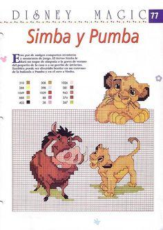 The Lion King- Simba and Pumba