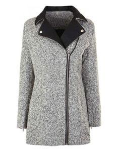 Fashion Union Nanette Wool Coat  #refinery29