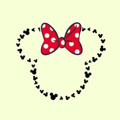 Minnie Heads Outline svg Minnie Mouse svg Disney svg files for