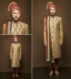 classy wedding sherwani for men in #Noida #DelhiNcr #India. #MenSherwani #Menswear #Sherwanis Contact us : Mobile No. 9350301018 Email:- designlablotus@gmail.com