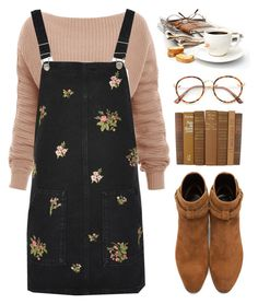 """Good morning sunshine:)"" by aby-ocampo ❤ liked on Polyvore featuring Topshop and Yves Saint Laurent"