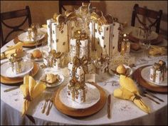 South Shore Decorating Blog: Top Christmas Table Ideas (2012) Part 1