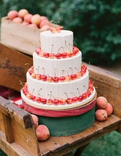 It would be so easy to do a simpler version of this with a nice store bought cake and save some $$.