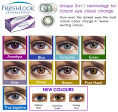 6692d728fba FreshLook ColorBlends Color Contact Lens for naturally beautiful dark or  light eyes