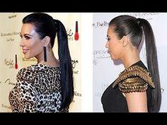 ▶ How to do a sleek ponytail - YouTube
