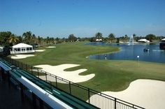 The view from the Platinum Suites #CadillacChamp #CadillacOfShots #golf #doral #Cadillac #VIP