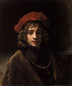 Titus, par Rembrandt van Rijn