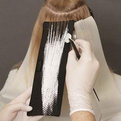 Babylights glamour de L & # Oreal Professionnel Blond, Hair Foils, Hair Color Formulas, Hair Color Techniques, Balayage Hair, Bayalage, Grunge Hair, Balayage Technique, Hair Hacks
