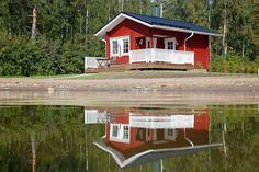#sauna #finland #lake #summer #holiday #experience