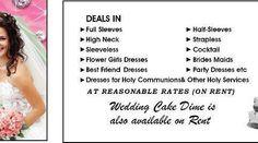 #rent #Christian Wedding Dresses in #Karachi , #Pakistan