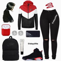 Stylish outfits - Outfits for Teens Baddie Outfits For School, Baddie Outfits Casual, Swag Outfits For Girls, Cute Outfits For School, Teenage Girl Outfits, Cute Swag Outfits, Cute Comfy Outfits, Sporty Outfits, Teen Fashion Outfits