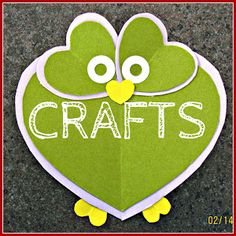 Owl Valentine Craft - OWLways Loved By God! OWL You Need Is Love!