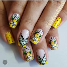 Creative Nail Designs, Creative Nails, Nail Art Designs, Fabulous Nails, Gorgeous Nails, Fancy Nails, Cute Nails, Nail Art Techniques, Stiletto Nail Art