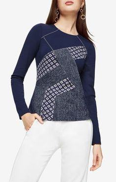 Maygan Patchwork Top