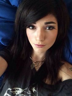 Leda Muir brown hair #ledamonsterbunny
