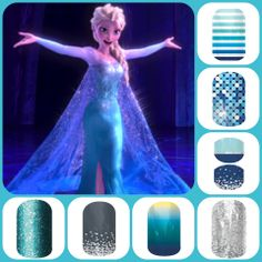 Which Jamberry Nail  Wraps would Elsa choose?   see all 300+ designs at www.erinsteffan.jamberrynails.net
