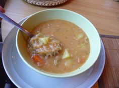 Cheeseburger Chowder, Soups, Eat, Ethnic Recipes, Fitness, Food, Essen, Soup, Meals