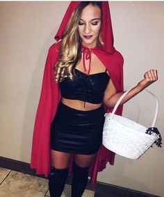 21 Easy and Sexy Halloween Costumes for Your Inspiration; Halloween costumes for teens; Halloween costumes for girls; Halloween costumes for women. Hot Halloween Costumes, Fete Halloween, Group Halloween, Sexy Diy Costumes, Halloween Costume Women, Easy Costumes Women, Halloween Outfits For Women, Halloween College, Halloween 2017