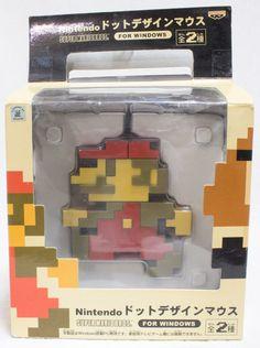 Nintendo ドットデザインマウス スーパーマリオブラザーズ