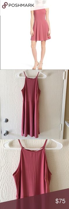 NWT• Rose skater dress Fitted on top and flared on the bottom• back keyhole with rouleau-button closure• Unlined• Cutaway Shoulders• 95% Polyester, 5% Spandex • Dry Clean only • Baroque Rose Color• tag says XL but runs smaller so listing for size LARGE•   • Offers Welcome • Bundle Discounts  • Suggested User • Fast Shipper Lush Dresses