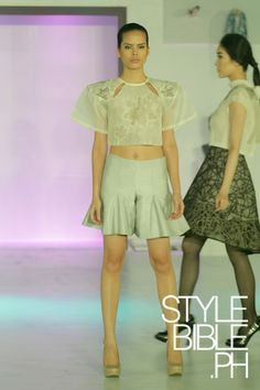 Camille Go, School of Fashion and the Arts 2014 Graduation Show