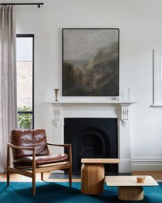 A @gregwood_art painting stealing the show at our Carlton North Residence.⁠ .⁠ .⁠ Artwork @gregwood_art ⁠ Photography @shannonmcgrath7⁠ .⁠… Carlton North, Hecker Guthrie, Cosy Corner, Site Design, Art Photography, Wall Art, Studio, Artwork, Painting
