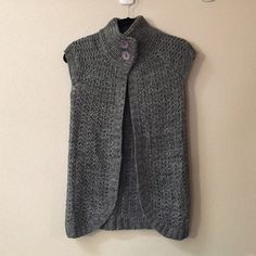 Grey sweater Like new, never worn. Great to pair with skirts, dresses or pants. Perfect for layering. Very soft and cozy! PINK WOMAN Sweaters