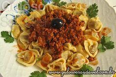 Receita de Capeletti ao Molho de Carne