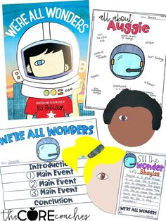 We're All Wonders Interactive Read-Aloud