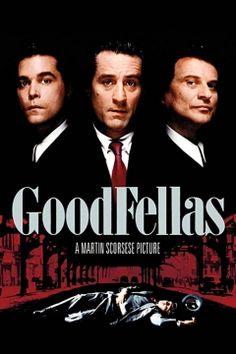 """Goodfellas (1990) movie poster. """"Three Decades of Life in the Mafia."""""""