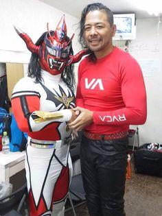 """Jushin """"Thunder"""" Liger & Shinsuke Nakamura"""