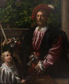 1523 Parmigianino - Portrait of Lorenzo Cybo