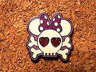 Minnie Disney Pin - Pirate Skull and Crossbones #EasyNip