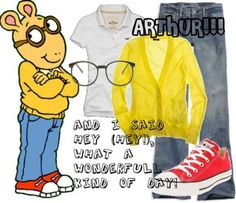 Arthur is still recognizable, thanks to PBS   17 Creative Kidlit-Inspired Halloween Costumes