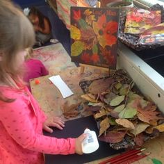 Inquiring Minds: Mrs. Myers' Kindergarten: Trees and Leaves... an Investigation and Student Documentation Through the arts ≈≈