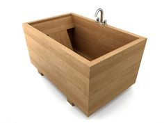 Japanese Ofuro - soaking bath ....I want one small enough for a tiny house!