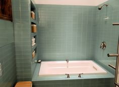 Find another beautiful images Glass Subway Tile In Bathrooms