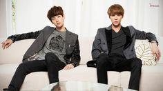 EXO-K Sehun and Baekhyun Ivy Club HD Wallpaper