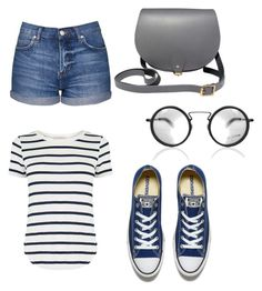 """""""Hello"""" by marantapril ❤ liked on Polyvore featuring Oasis, Topshop, Converse, N'Damus and Yohji Yamamoto"""
