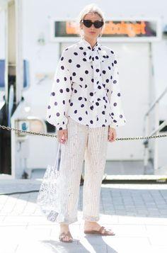 Stockholm Fashion Week 2017: polka dot