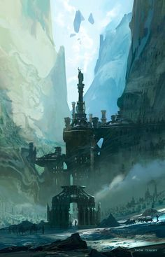 The Necreous Gate Concept Art by Thom Tenery
