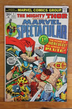 The Mighty Thor Starring in Marvel Spectacular Vol 1 # 1