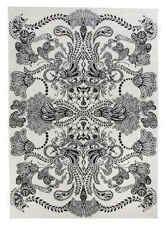 Vallila Interior VM001010-61 Teppich Syvämeri, 140 x 200 cm, weiß: Amazon.de: Küche & Haushalt