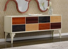 Console with drawers, mod: LYON Lyon, Credenza, Solid Wood, Drawers, Cabinet, Storage, Buffets, Furniture, Home Decor