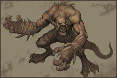 Rat-like creature by ~KhezuG on deviantART