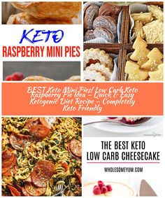 Tasty Keto mini raspberry pie you CAN NOT stop eating! Ketogenic diet - keto friendly low carb mini hand pies! This simple ingredient keto recipe is easy to make and super yummy. Homemade not store bought keto low carb hand pies. #raspberry #desserts - Simple keto recipe for the BEST breakfast, treat, snack or dessert :) low carb diet BEST Keto Mini Pies! Low Carb Keto Raspberry Pie Idea – Quick & Easy Ketogenic Diet Recipe – Completely Keto Friendly Raspberry Desserts, Low Carb Cheesecake, Best Diet Plan, Mini Pies, Stop Eating, Low Carb Diet, Best Breakfast, Best Diets, Ketogenic Diet