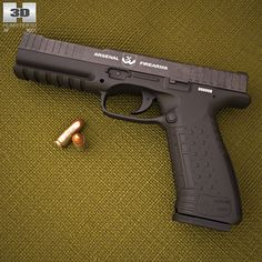 """Arsenal Firearms AF1 """"Strike One"""" 3d model from humster3d.com. Price: $50"""